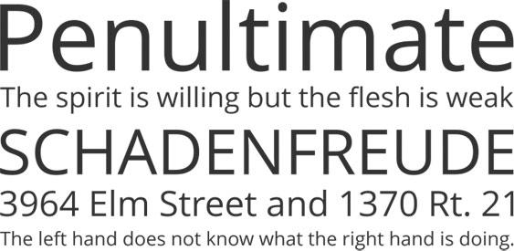 Open Sans Free Font