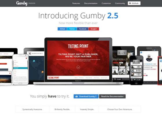 Gumby - free css framework