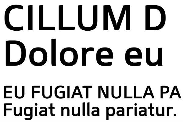 Free font Mentone