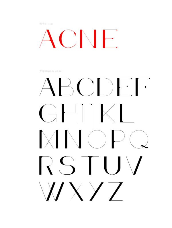 Acne-free-font