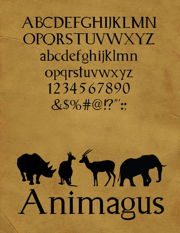 Animagus-Free-Font
