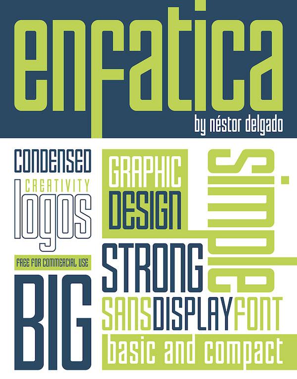 Enfatica-Free-Font