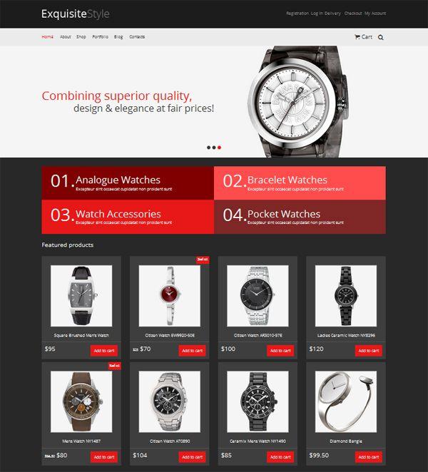 Exquisite Style-free-e-commerce-wordpress-theme