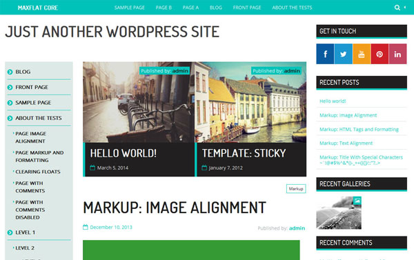 MaxFlat-Core-free-wordpress-theme