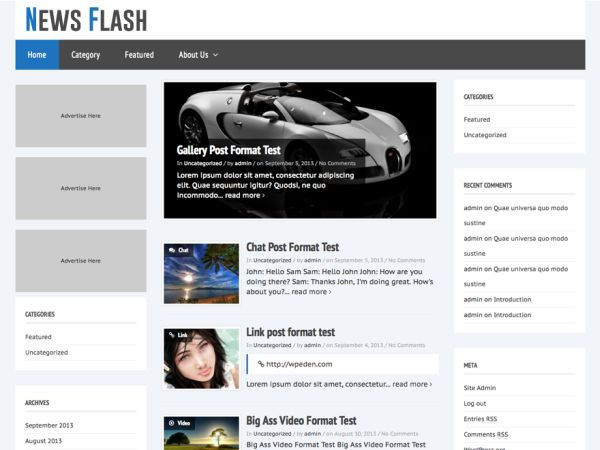 News_Flash_Free_WordPress_Theme