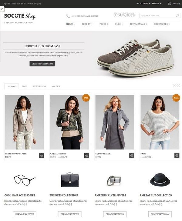Socute-Free-E-Commerce-Theme