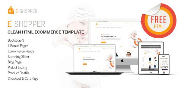 eshoper-responsive-ecommerce-template