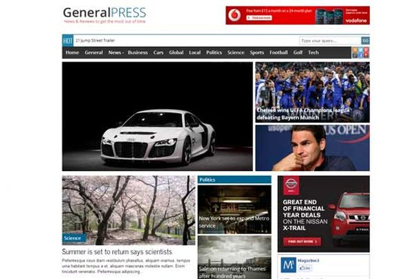 Free-WordPress-theme-generalpress