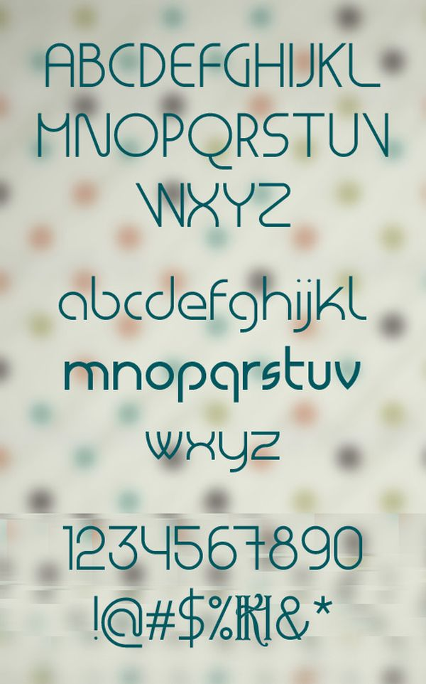 Free font Masiode