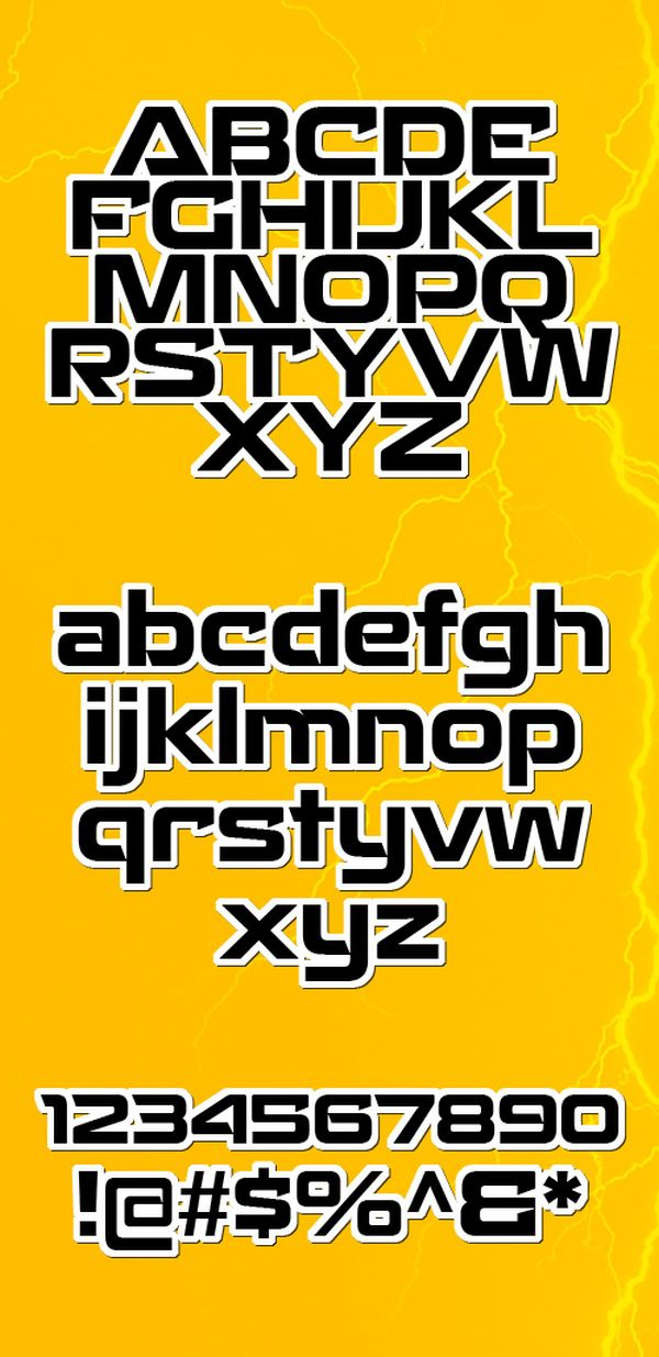 Free font Recharge