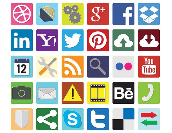 free-flat-dc-icons