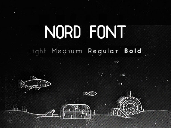 free-font-Nord