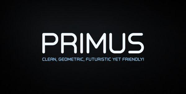 free font primus