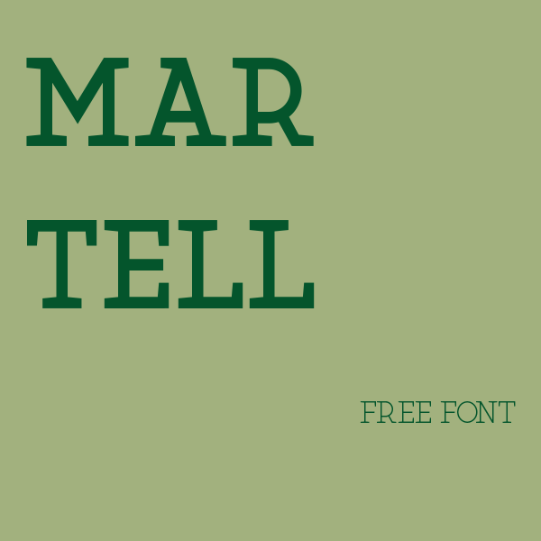 free font martell