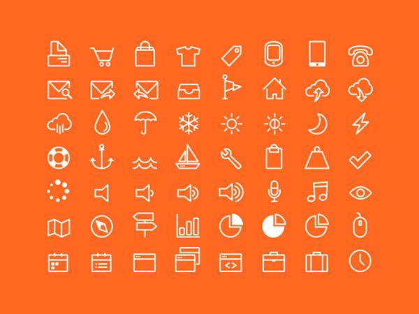 free icon font Icon Works