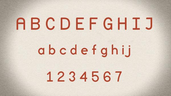 Mocup free font